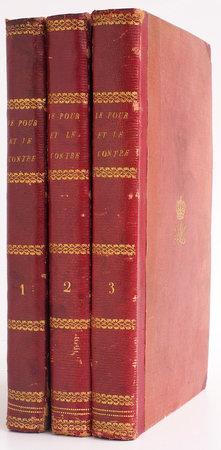 Le Pour et le contre ou la vieille Fille et la femme mariée. Roman de Mistress Ross... traduit de l'anglais par M. Ch[arles] A. Def[auconnpret]. by ROSS, Mrs ('Mistress').