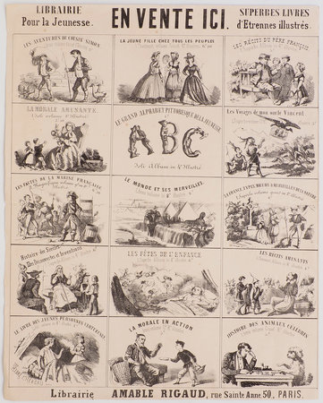 Librairie pour la Jeunesse. En vente ici. Superbes livres d'Etrennes illustrés. by (JUVENILE). RIGAUD, Amable, publisher.