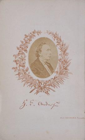 Nouveaux contes, traduits par Louis Demouceaux précédés d'une lettre préface par Eugène Bazin. by ANDERSEN, Hans Christian.