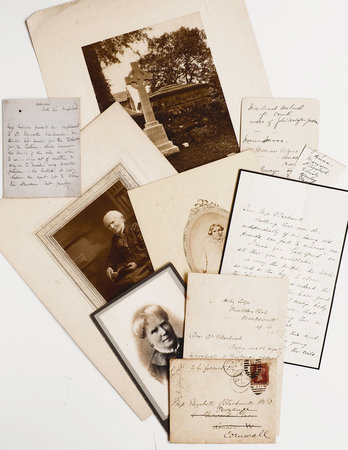 Three letters to her from: Florence Nightingale, George Eliot and novelist Dinah Mulock, together with photographic portraits. by BLACKWELL, Dr Elizabeth.
