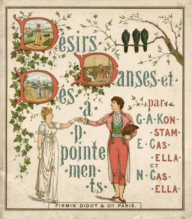 Désirs, danses et désappointements. by KONSTAM [KINGSTON], Gertrude. Ella and Nelia CASELLA.