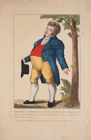 Georges Cadoudal dit Larive dit Masson Chef des brignads soldés par le ministre britannique pour assassiner le 1er Consul N. Bonaparte, et allumer la guerre civile en France. by (NAPOLEON). CADOUDAL, Georges.