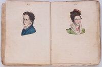 Les Sympathies, ou, L'art de juger, par les traits du visage, des convenances en amour et en amitié. by [GENLIS, Stéphanie Félicité, comtesse de, attributed to].
