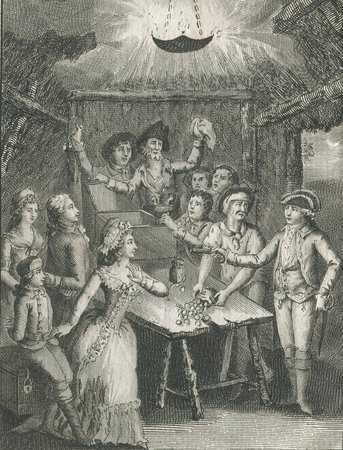 Voilà comme on aime. by [DEVIGE, comte, pseud. attributed to Jacques-Thomas VERNEUR].