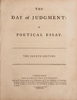 The Day of Judgment: a poetical Essay. The fourth Edition. by GLYNN, Robert.