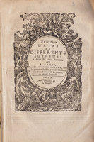 XXII. Livre d'Airs de differents autheurs, à deux et trois parties. by BALLARD, Christophe.