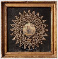 [Cut paper roundels] by MAYNARD, Henry.
