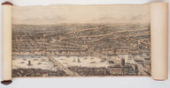 Another image of The Illustrated London News Panorama of London and the River Thames. by (PANORAMA). [SMYTH, Frederick James, engraver].