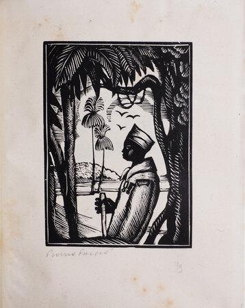 La Randonnée de Samba Diouf. by FALKÉ, Pierre, illustrator. Jérome and Jean THARAUD.