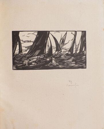 Le Peuple de la mer. by RENEFER, illustrator. ELDER, Marc.