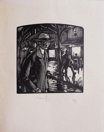 Les Amants tourmentés. by RENEFER, illustrator. VIOUX, Marcelle.