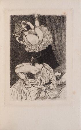 Obscenia. Lettre à la Présidente. Poésies érotiques. by [VAN MAELE, Martin, illustrator. Théophile GAUTIER].