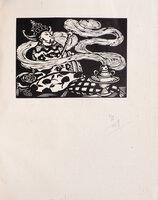 L'Aventure de Thérèse Beauchamps. by MIOMANDRE, Francis de. Roger GRILLON, illustrator.