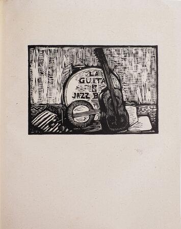 Giséle, La Guitare et le jazz-band. by DUVERNOIS, Henri. Berthe MARX, illustrator.