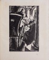 L'Inconstante. by HOUVILLE, Gérard d'. Gérard COCHET, illustrator.