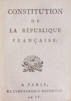 de la République française. by CONSTITUTION