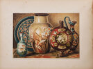 Another image of Cours de peinture sur porcelaine... traduit de l'anglais par E. Roubaud. by LEWIS, Florence.
