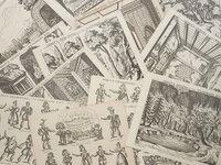 Skelt's Characters & Scenes in The Woodman's Hut. In 6 Plates Characters 7 Scenes & 2 Plates Wings … by (TOY THEATRE). [ARNOLD, Samuel James]. SKELT, Martin, publisher.