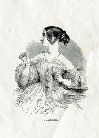 Album Types Anglais by GAVARNI, Henri MONNIER and Tony JOHANNOT, illustrators.