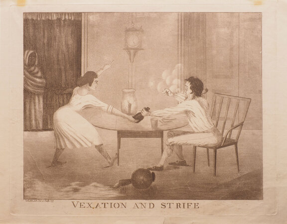 Vexation and Strife. by MOFFAT, James.