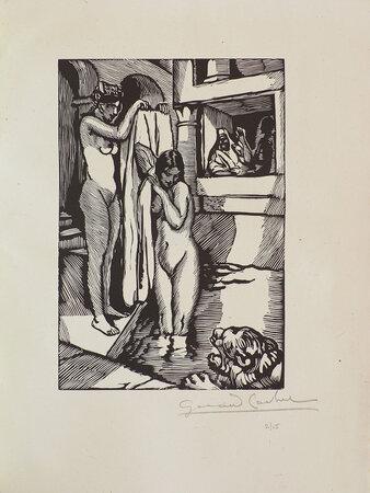 Le petite Fille de Jérusalem. by HARRY, Myriam. Gérad COCHET, illustrator.