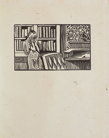 La Femme de personne. by CHAUVIÈRE, Claude. HERMANN-PAUL, [René Georges], illustrator.