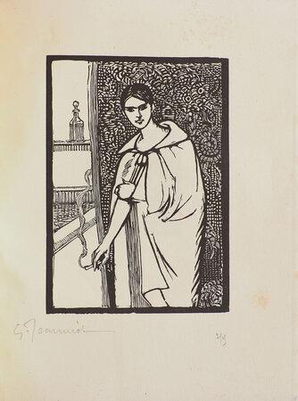 Chéri. by COLETTE. Georges JEANNIOT, illustrator.