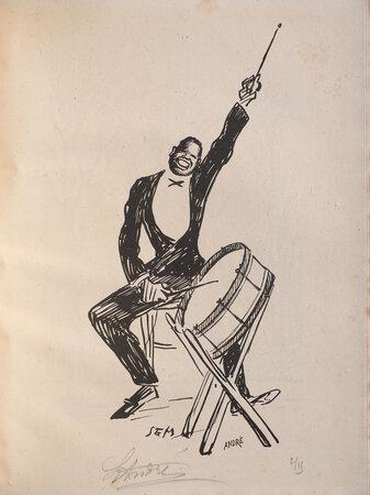 La Ronde de nuit. by 'SEM'. [pseudonym of Georges GOURSAT],
