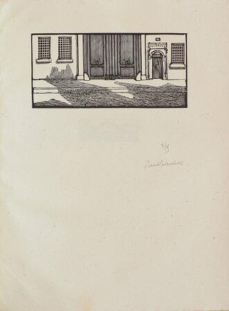 La Maison. by BORDEAUX, Henry. Paul BAUDIER, illustrator.