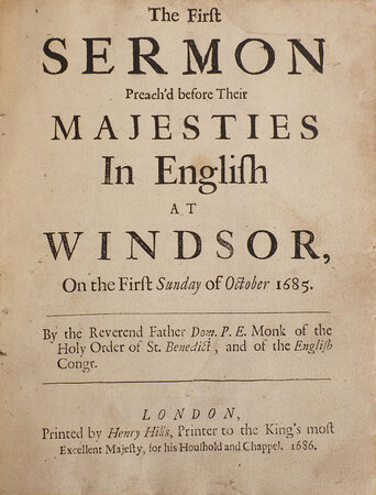 [10 Sermons]. by (JAMES II).