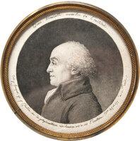 Edme Mentelle membre de l'institut. Dess. p. Fouquet. gr. p. Chretien inv. du physionotrace … by CHRETIEN, Gilles-Louis.