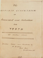 The Monthly Circulator of Amusement and Instruction for Youth... Written, Edited and Illustrated by G.B. Grove. by (JUVENILE MAGAZINE). GROVE, George B.