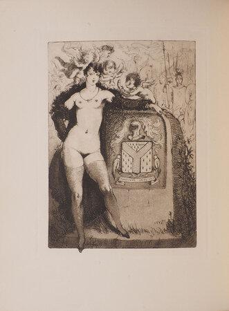 Les Caprices du sexe ou les Audaces érotiques de mademoiselle Louise de B... roman inédit. by 'DORMIENNE, Louise' [pseudonym of René DUNAN].