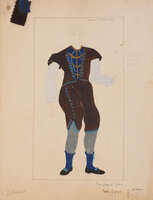[Costume Designs for Peer Gynt by LAVALLEY, [Paul Louis].