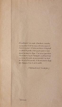 Florilège [spine title]. by [JEAN, prêtre].