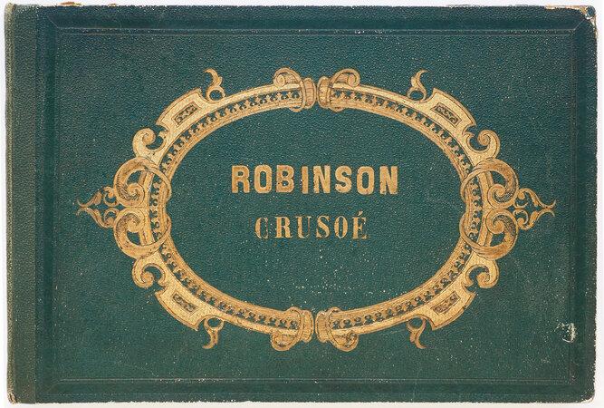 Aventures de Robinson Crusoé by (DEFOE). SAUVAGEOT.