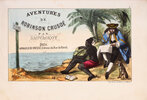 Another image of Aventures de Robinson Crusoé by (DEFOE). SAUVAGEOT.