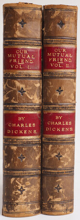 Our Mutual Friend... with Illustrations by Marcus Stone. by DICKENS, Charles.
