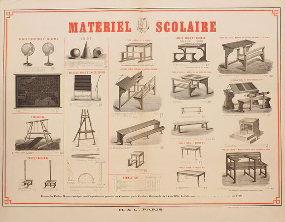 Matériel scolaire. by (EDUCATION). H. & C[ompagn]ie.
