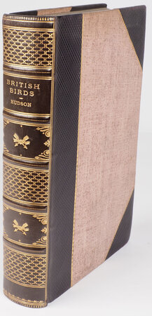 British Birds... with a Chapter on Structure and Classification by Frank E. Beddard F.R.S.... New Impression. by HUDSON, W. H.