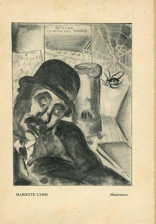 "Ulysse (Fragment) [in ""900"" Cahiers d'Italie et D'Europe 1. Cahier d'Automne 1926, ed. Massimo BONTEMPELLI et al.] by LYDIS, Mariette, illustrator. (James JOYCE). [Auguste MOREL, translator]."