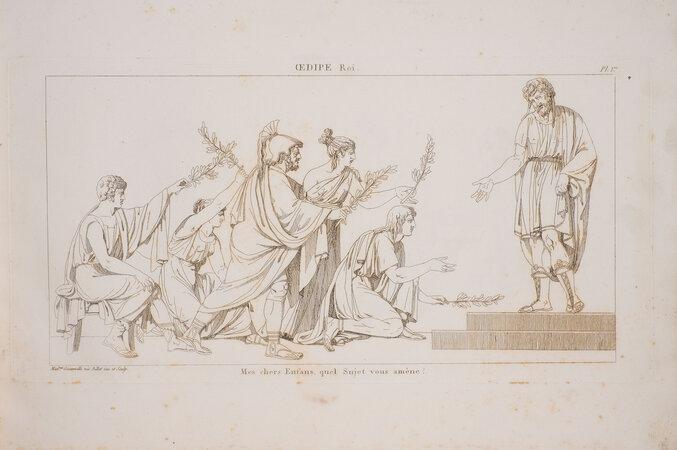 [Sujets tirés des tragédies de Sophocle. by GIACOMELLI, Sophia.