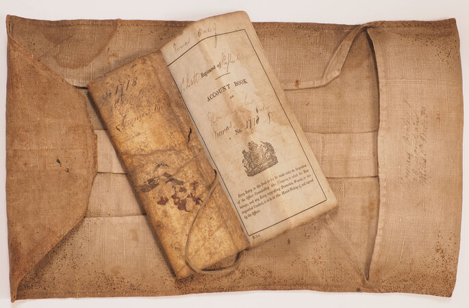 Account book. by [ONLEY, Thomas].