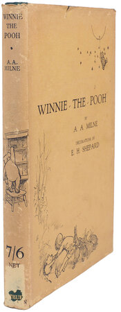 Winnie-the-Pooh... with decorations by Ernest H. Shepard. by MILNE, A. A.