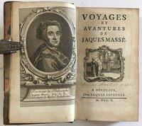Voyages et Avantures de Jaques Masse by [TYSSOT DE PATOT. Simon (1655-1727?)]