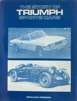 The Story of Triumph Sports Cars by ROBSON, Graham