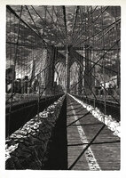 Brooklyn Bridge: New Day. by DESMET, Anne RA RE, b. 1964
