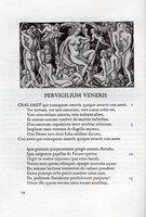 Pervigilium Veneris. The Vigil of Venus. by GOLDEN COCKEREL PRESS. BUCKLAND WRIGHT, JOHN.