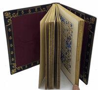 Livre d'Heures, Edite et Illustre par Mlle A. Rabeau. by ILLUMINATED MANUSCRIPT. IMPRIMERIE MOTTEROZ.