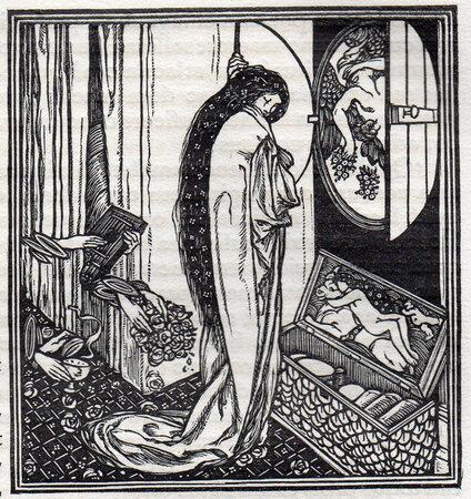 De Cupidinis et Psyches Amoribus Fabula Anilis. by VALE PRESS. RICKETTS, Charles.
